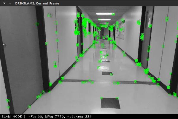 ORB-SLAM 2 camera view