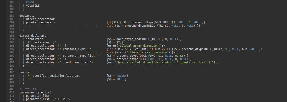 Simple C Compiler